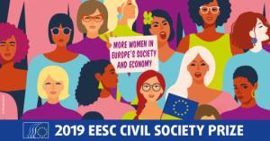 През 2019 г. ЕИСК ще даде наградата за гражданското общество на проекти за права на жените и борба за равенство между половете