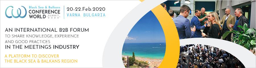 Покана за участие в Международна конференция Black Sea & Balkans Conference World Summit, 20 – 22.02.2020 г., гр. Варна
